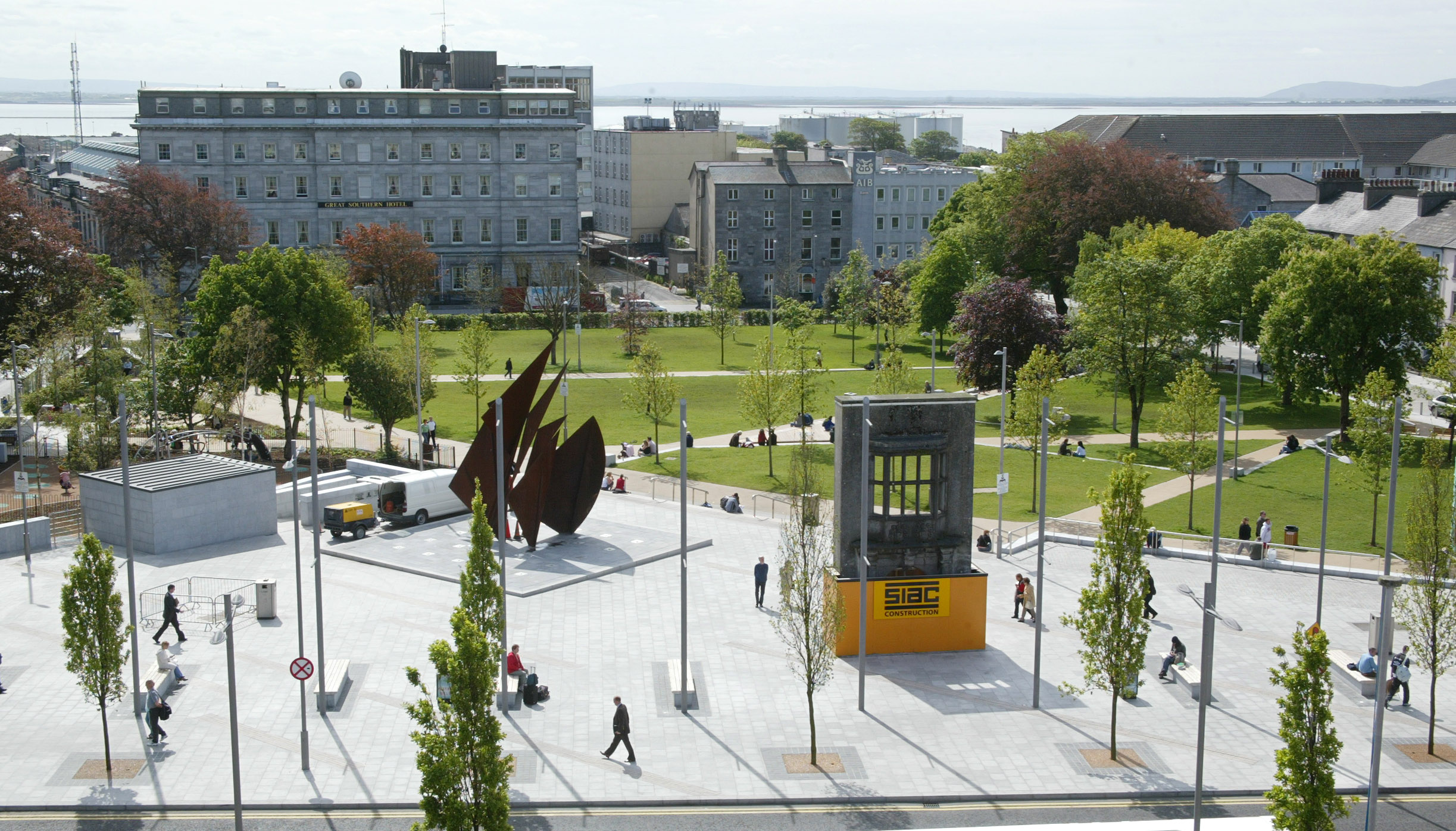 Siac Eyre Square Enhancement Galway